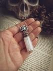 Naszyjnik Sun Fairy Dust z kryształem górskim (1)