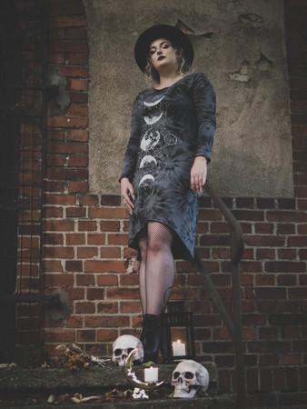Sukienka Hematite Moon (1)